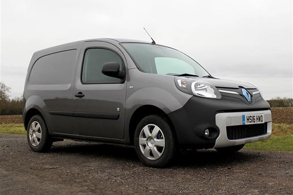 Renault Kangoo full review on Parkers Vans - 2017 ZE 33 exterior