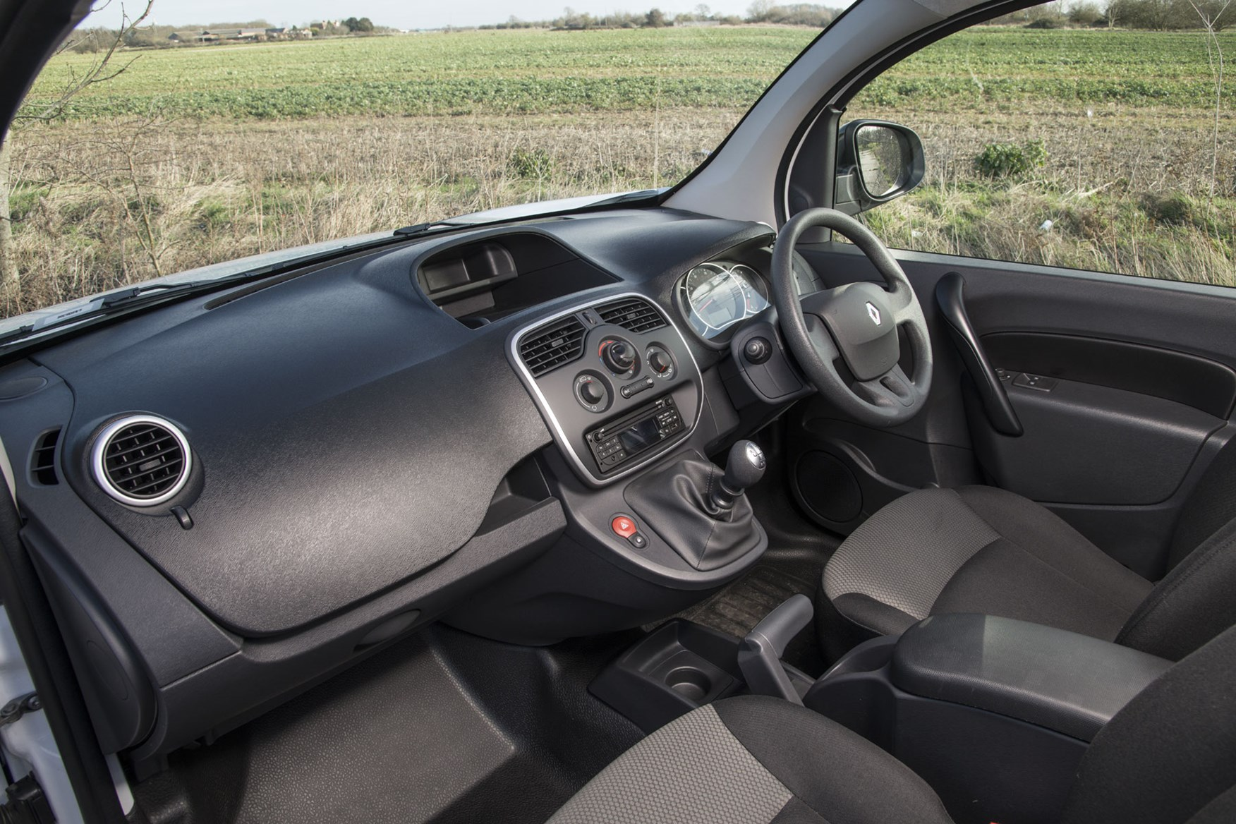 Renault Kangoo van review - cab interior