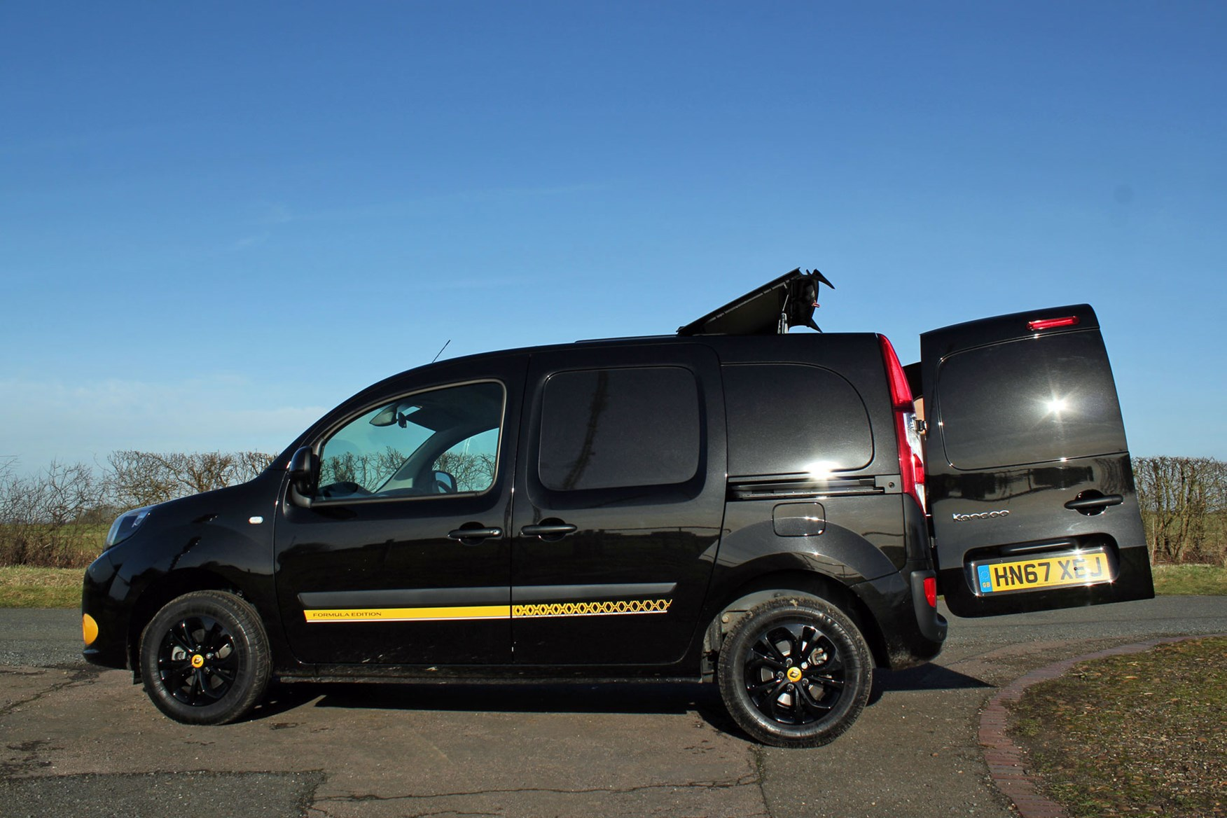 Renault Kangoo Formula Edition review - roof hatch