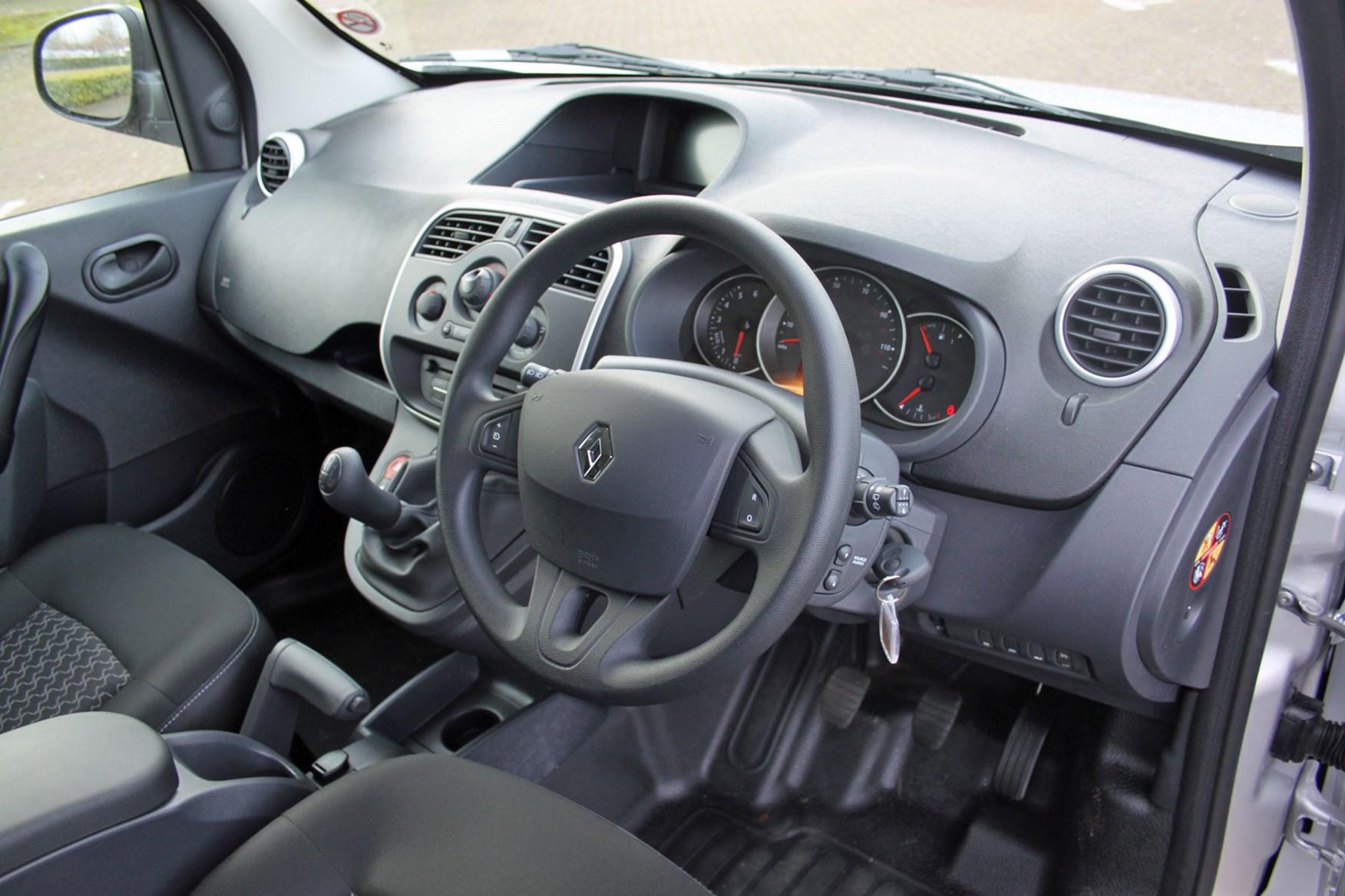 Renault Kangoo Sport review - cab interior