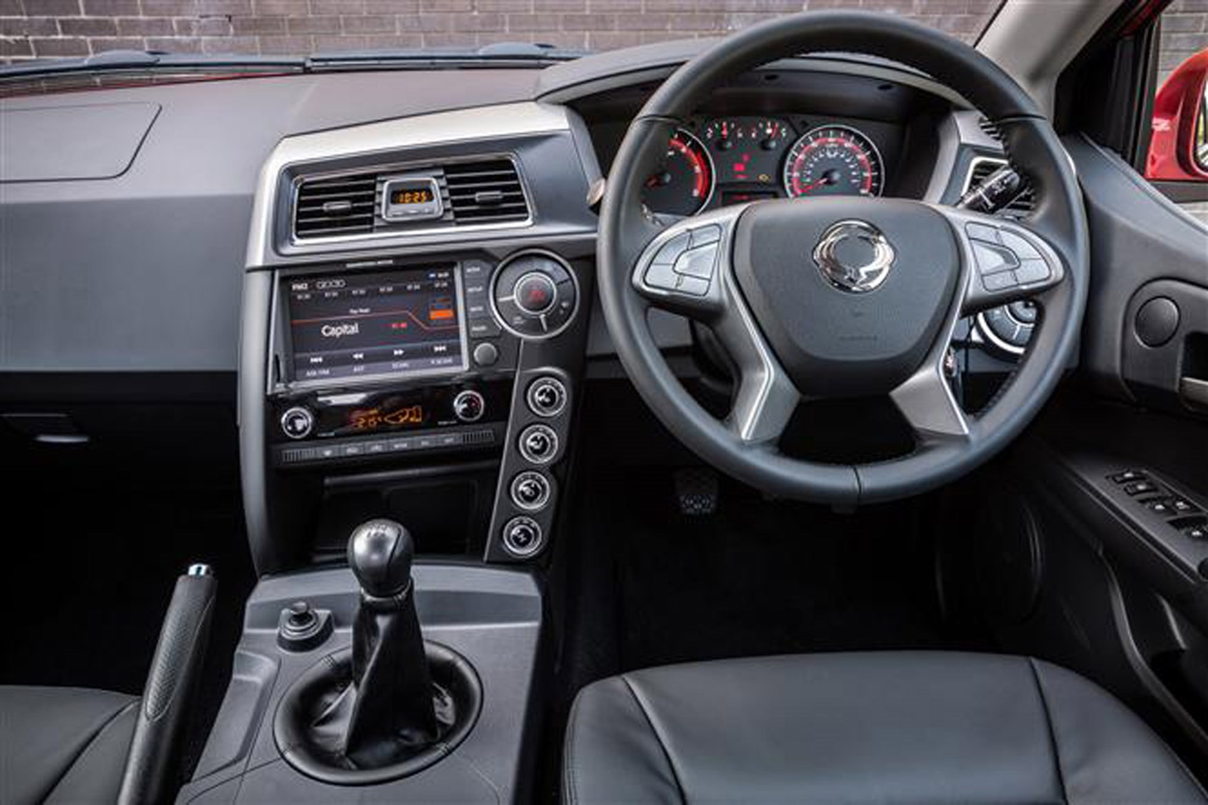 SsangYong Musso full review on Parkers Vans - in the driver's seat