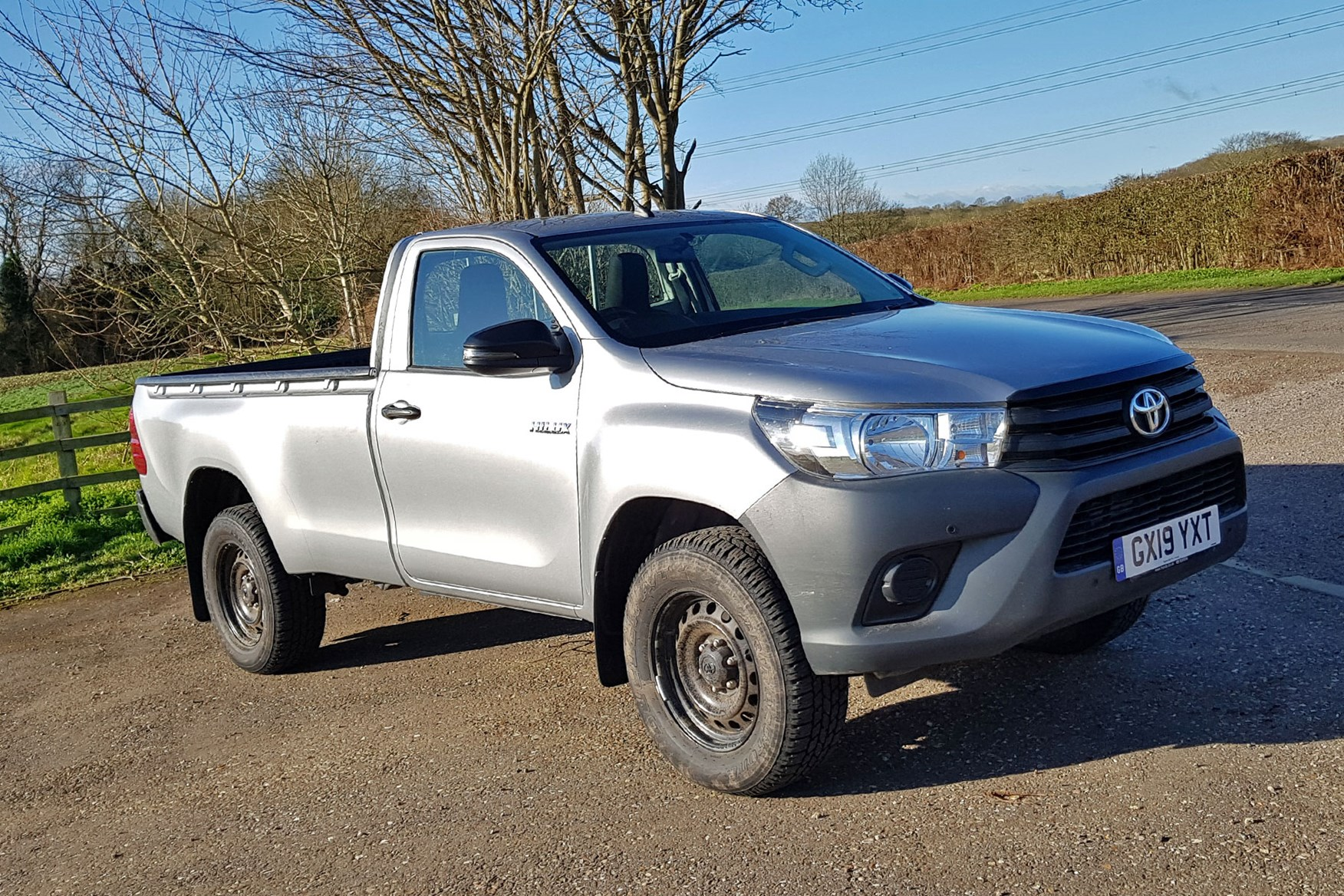 Toyota Hilux review - single cab, silver, 2020