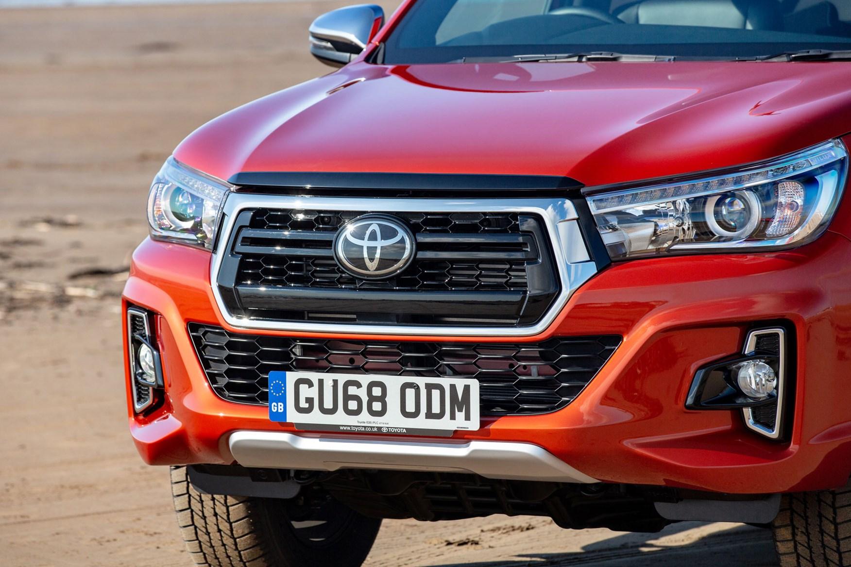 Toyota Hilux Invincible X review - unique front bumper design