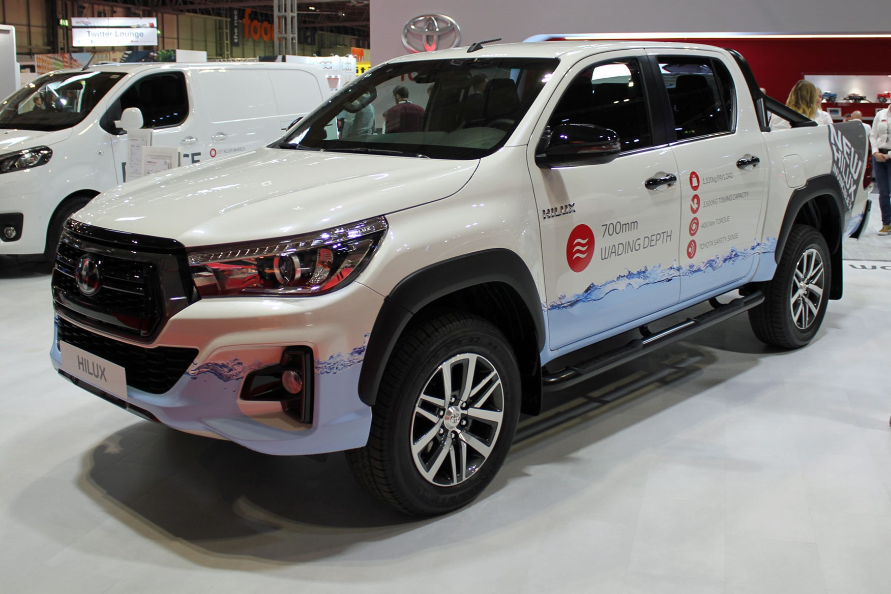 Toyota Hilux Invincible X 2019 launched at the CV Show