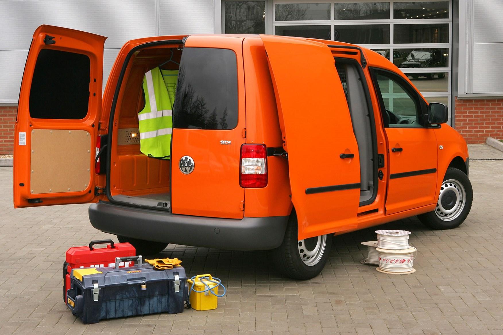 VW Caddy (2004-2010) rear view