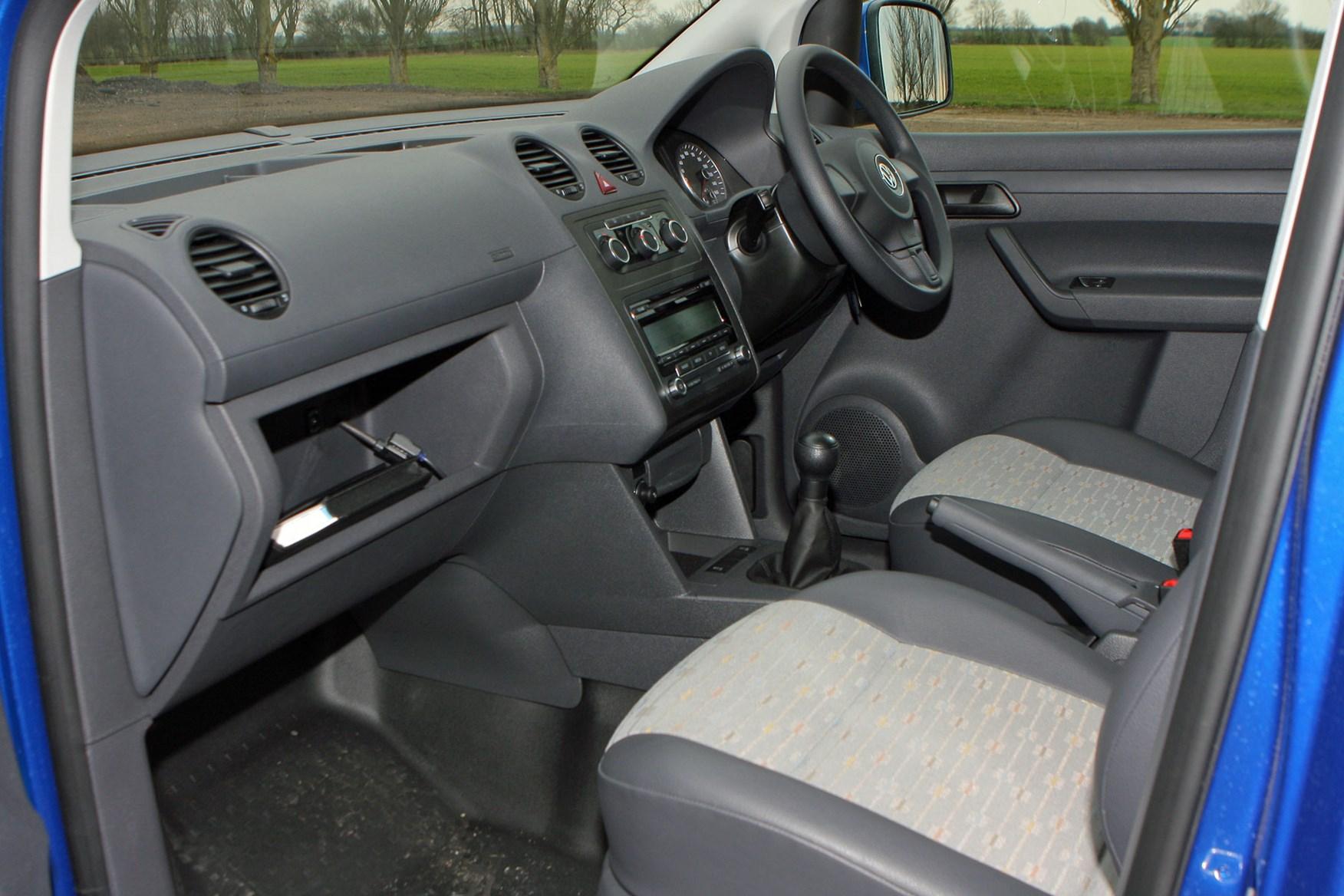 VW Caddy (2010-2015) cab interior