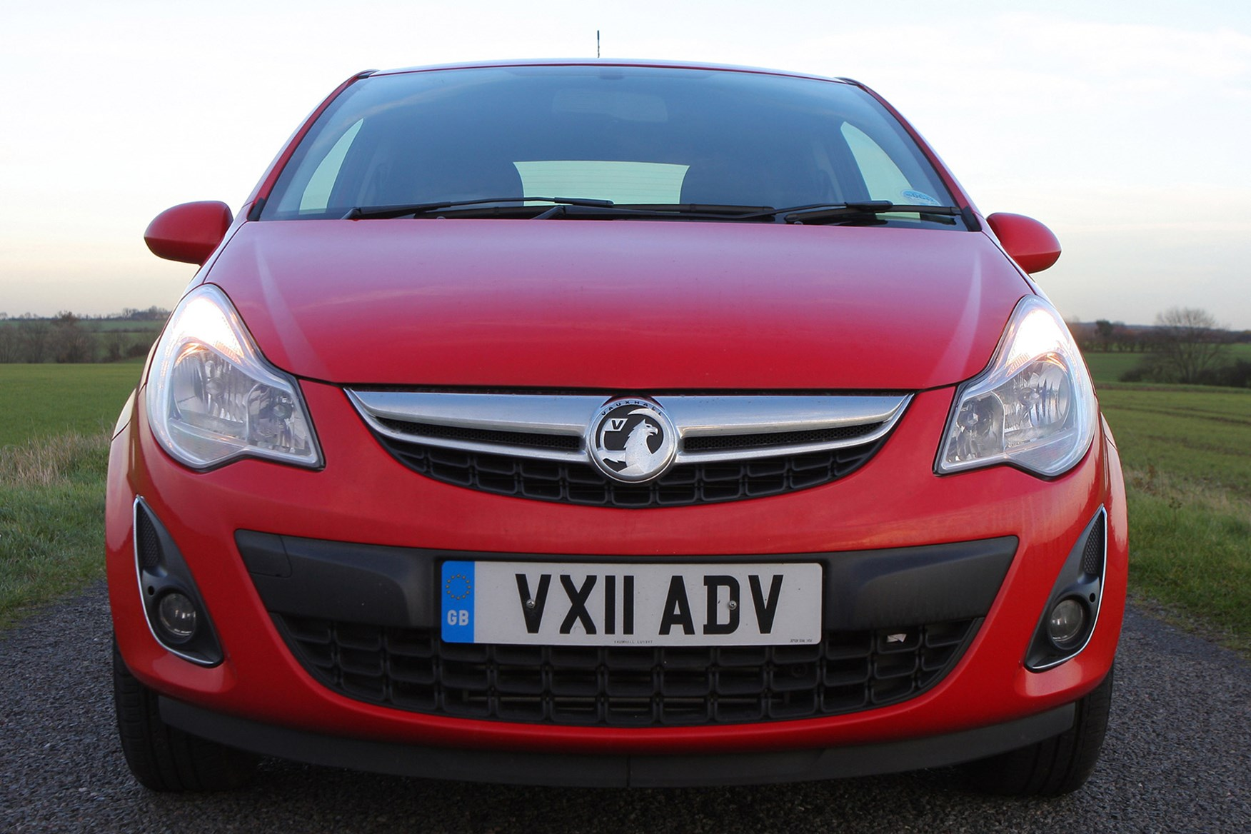 Vauxhall Corsa review on Parkers Vans - front