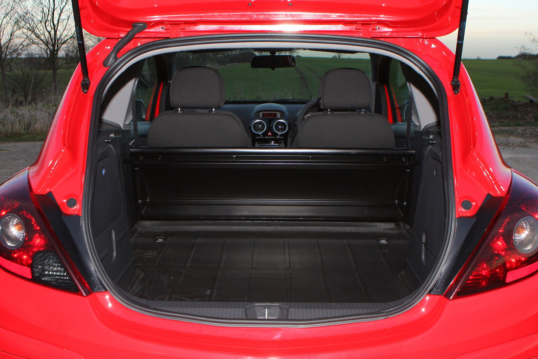 Vauxhall Corsa review on Parkers Vans - load area