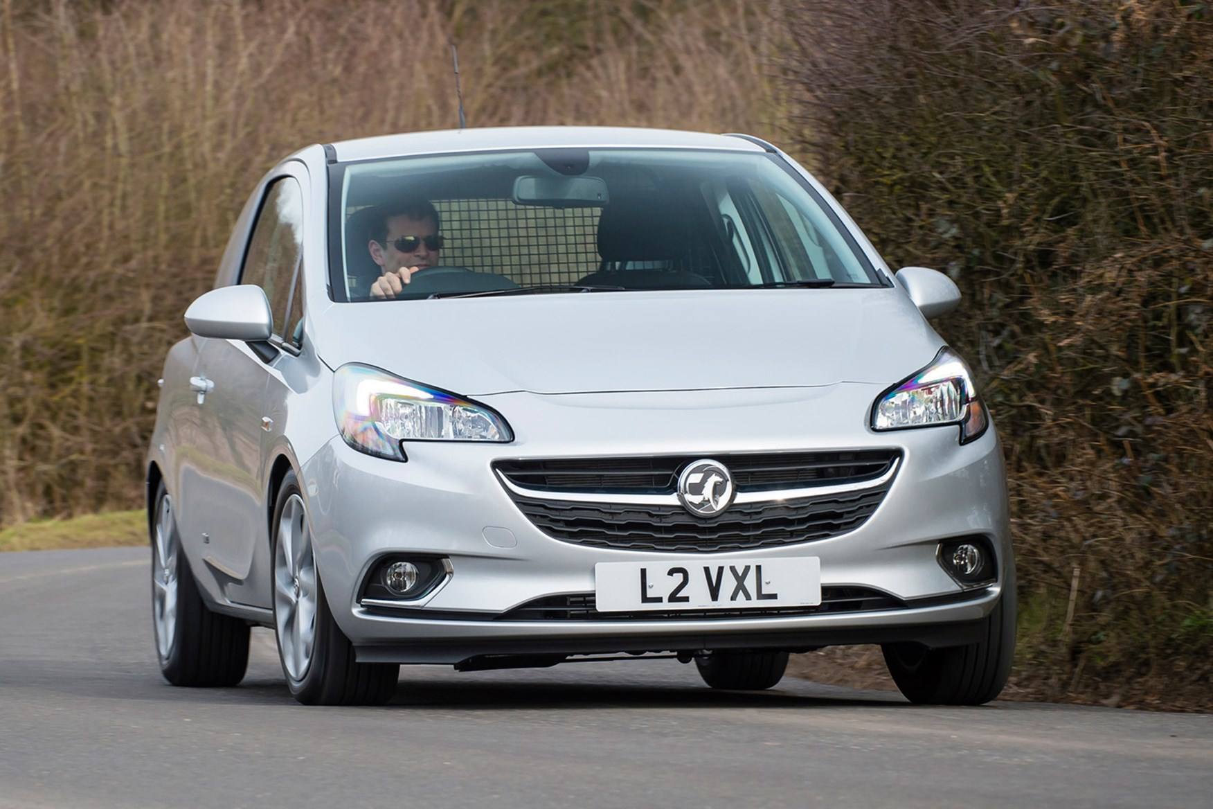Vauxhall Corsa full review on Parkers Vans - front exterior