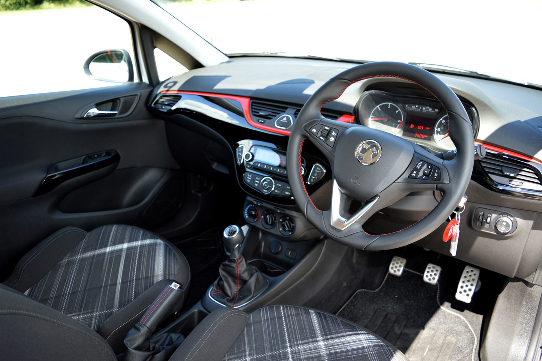Vauxhall Corsa full review on Parkers Vans - interior