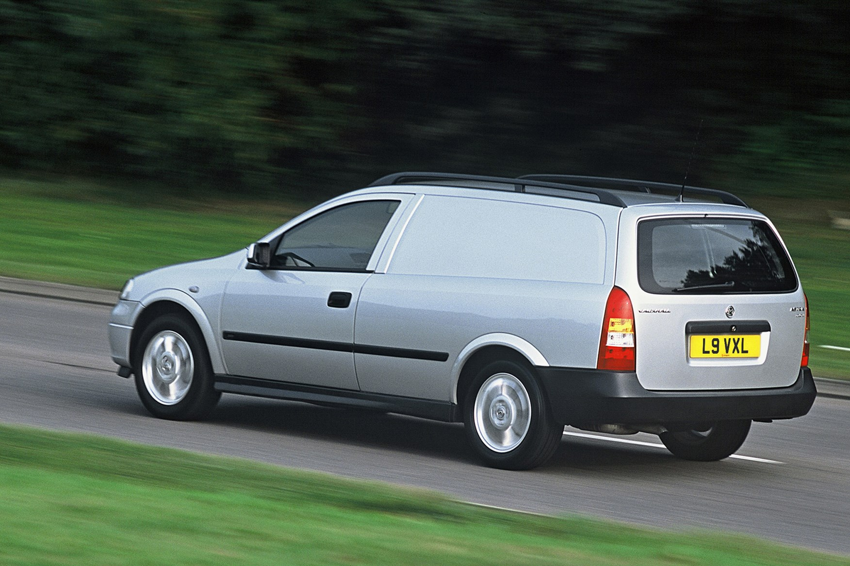 Vauxhall Astra review on Parkers Vans - rear exterior