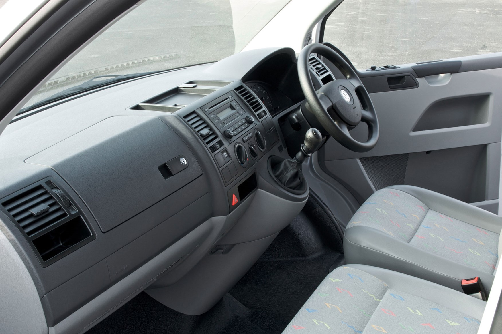 VW Transporter T5 (2003-2010) safety and security