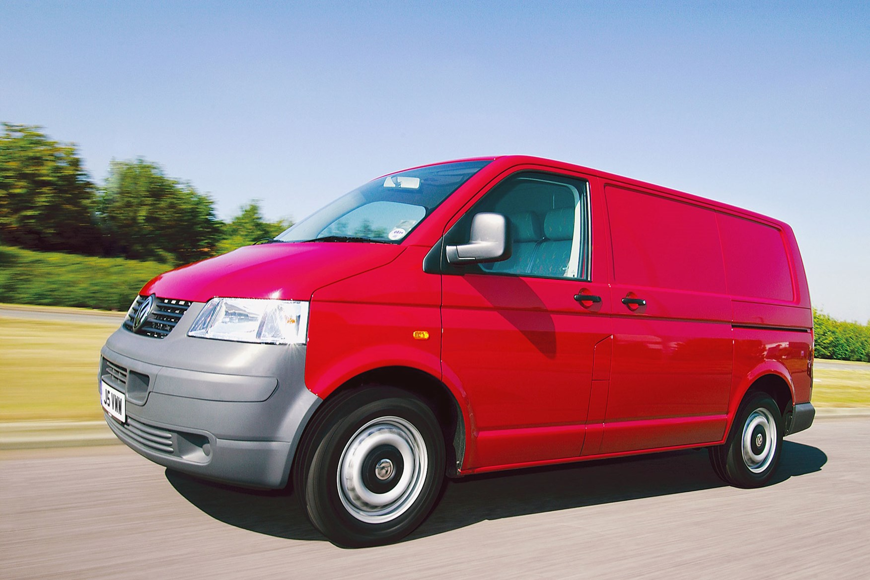 VW Transporter T5 (2003-2010) driving experience
