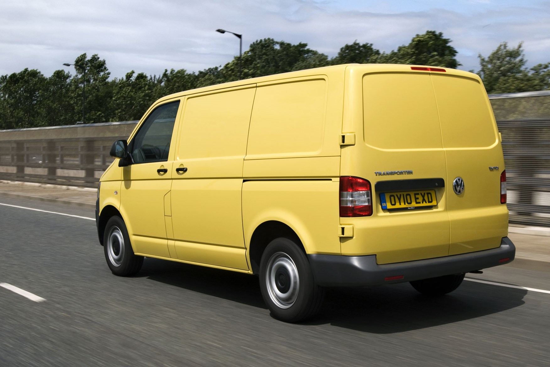 VW Transporter T5 (2010-2015) safety and security