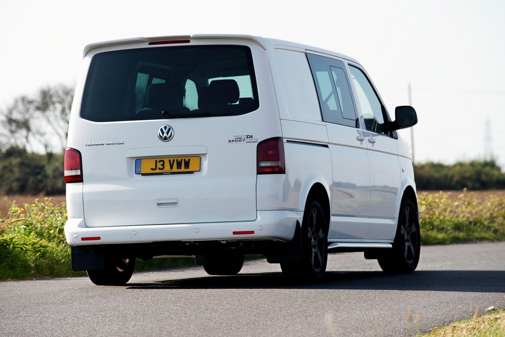 VW Transporter T5 (2010-2015) Sportline driving rear