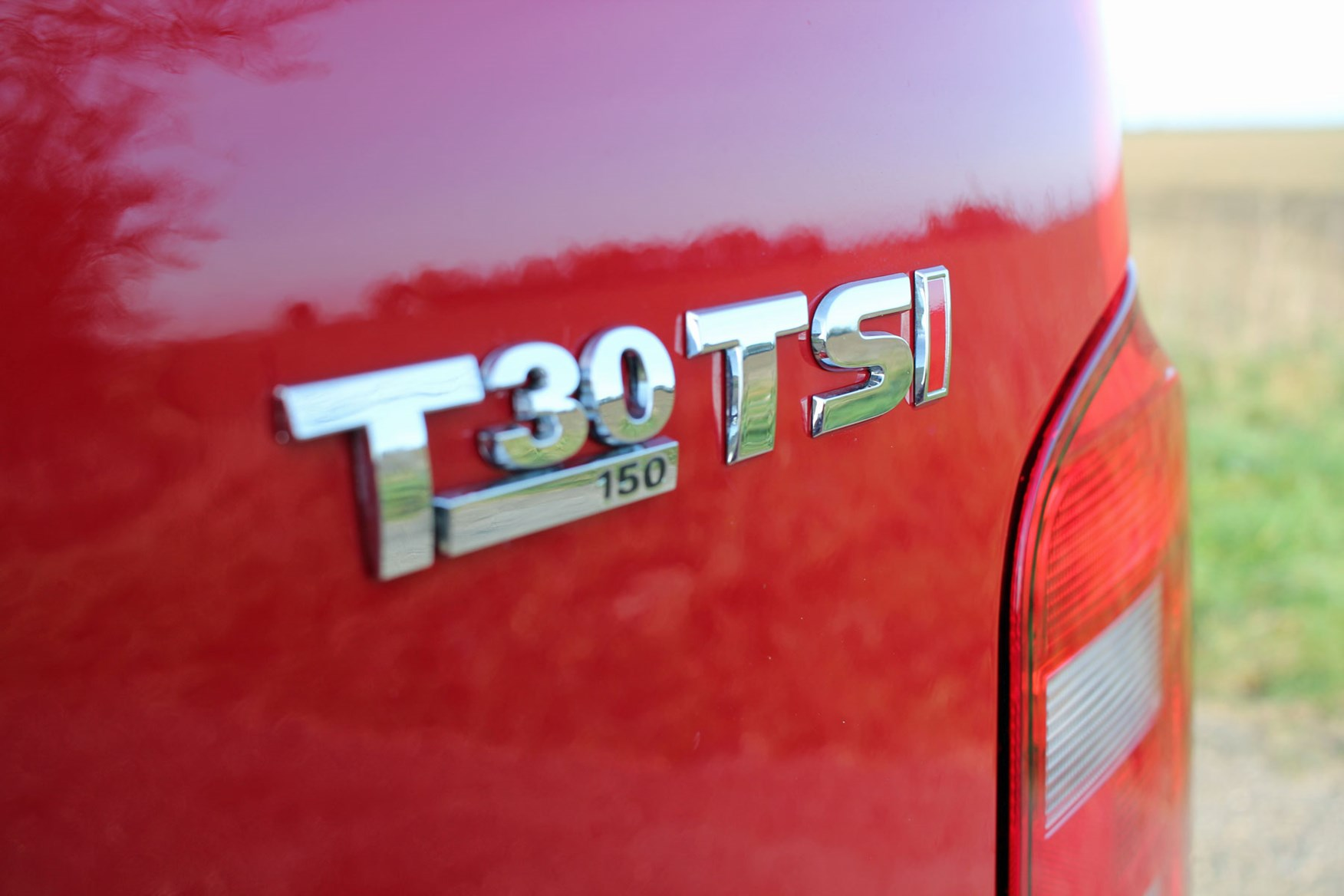 VW Transporter T6 TSI 150 review - T30 badge