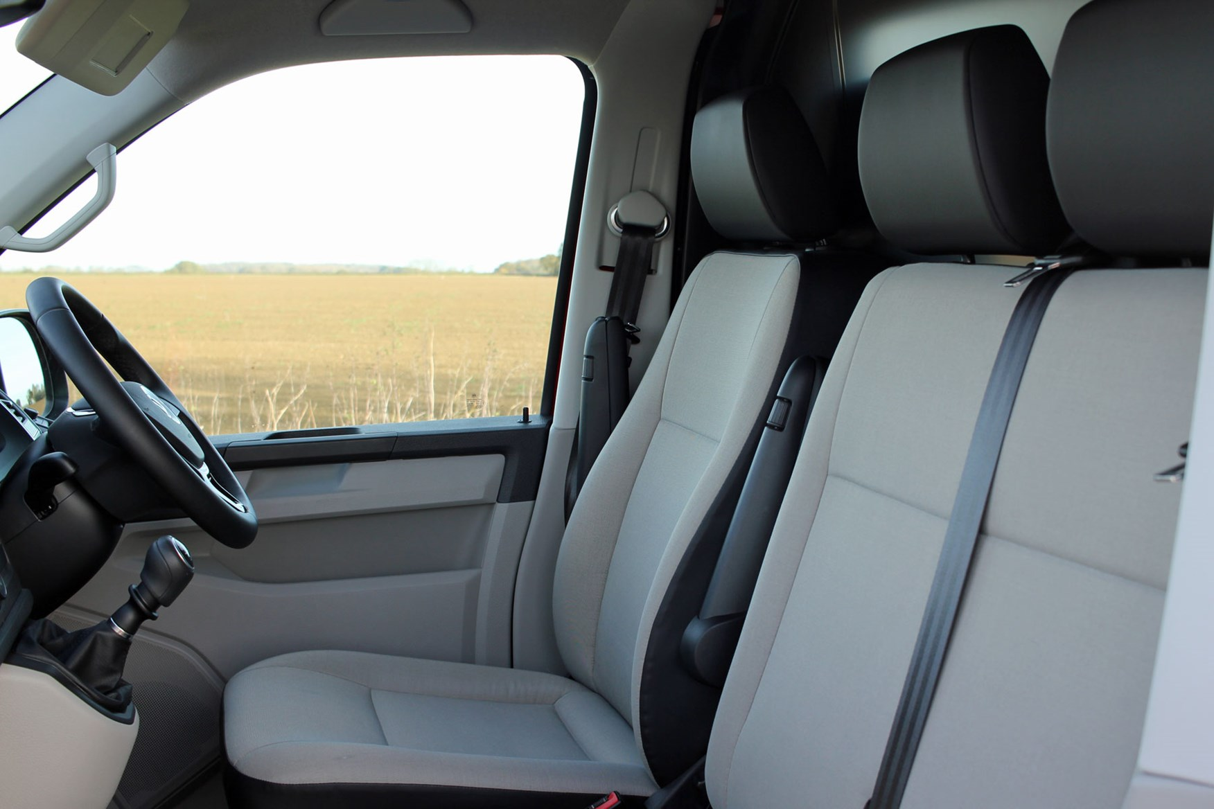 VW Transporter T6 TSI 150 review - cab interior, driving experience