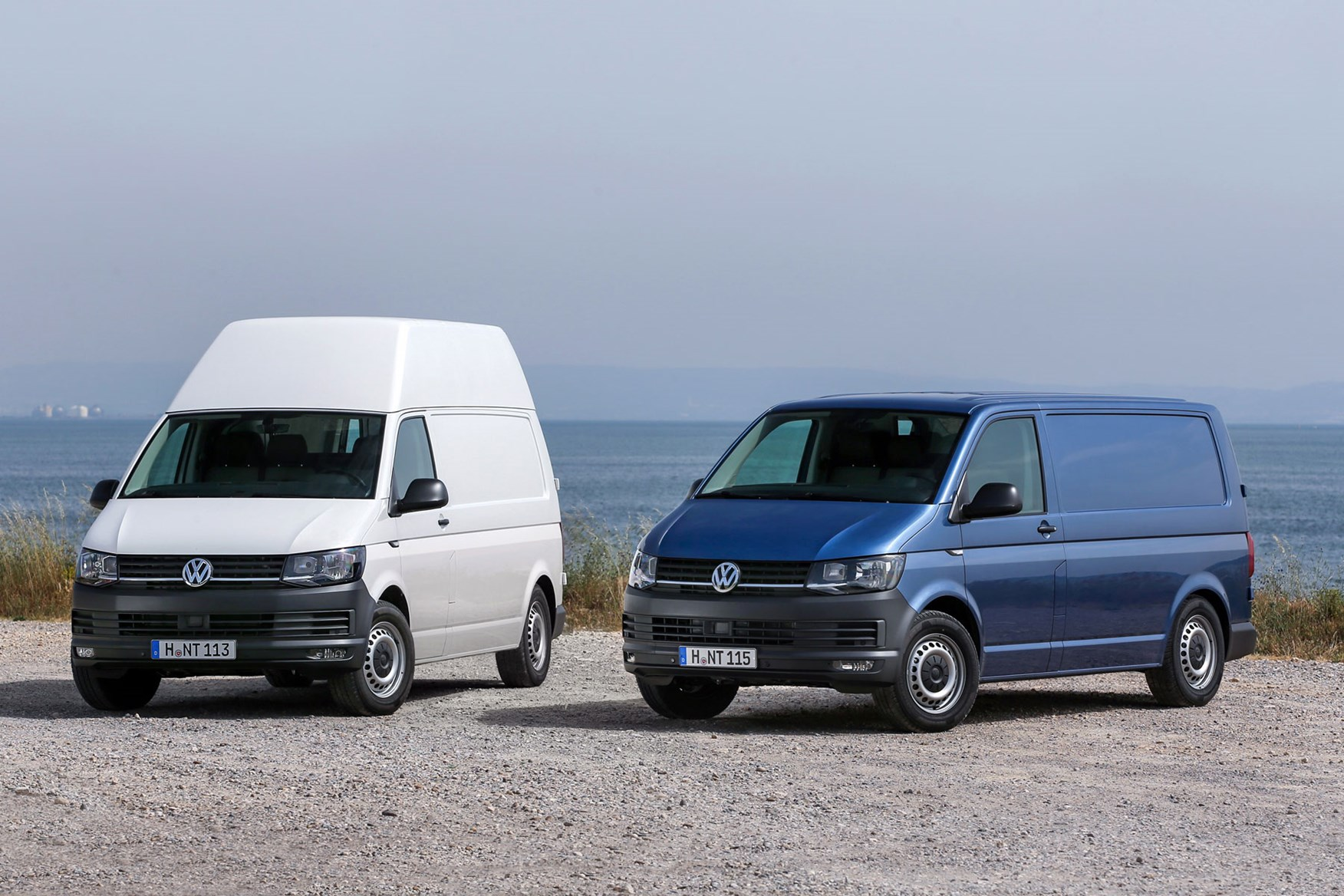 VW Transporter T6 Low and High roof options