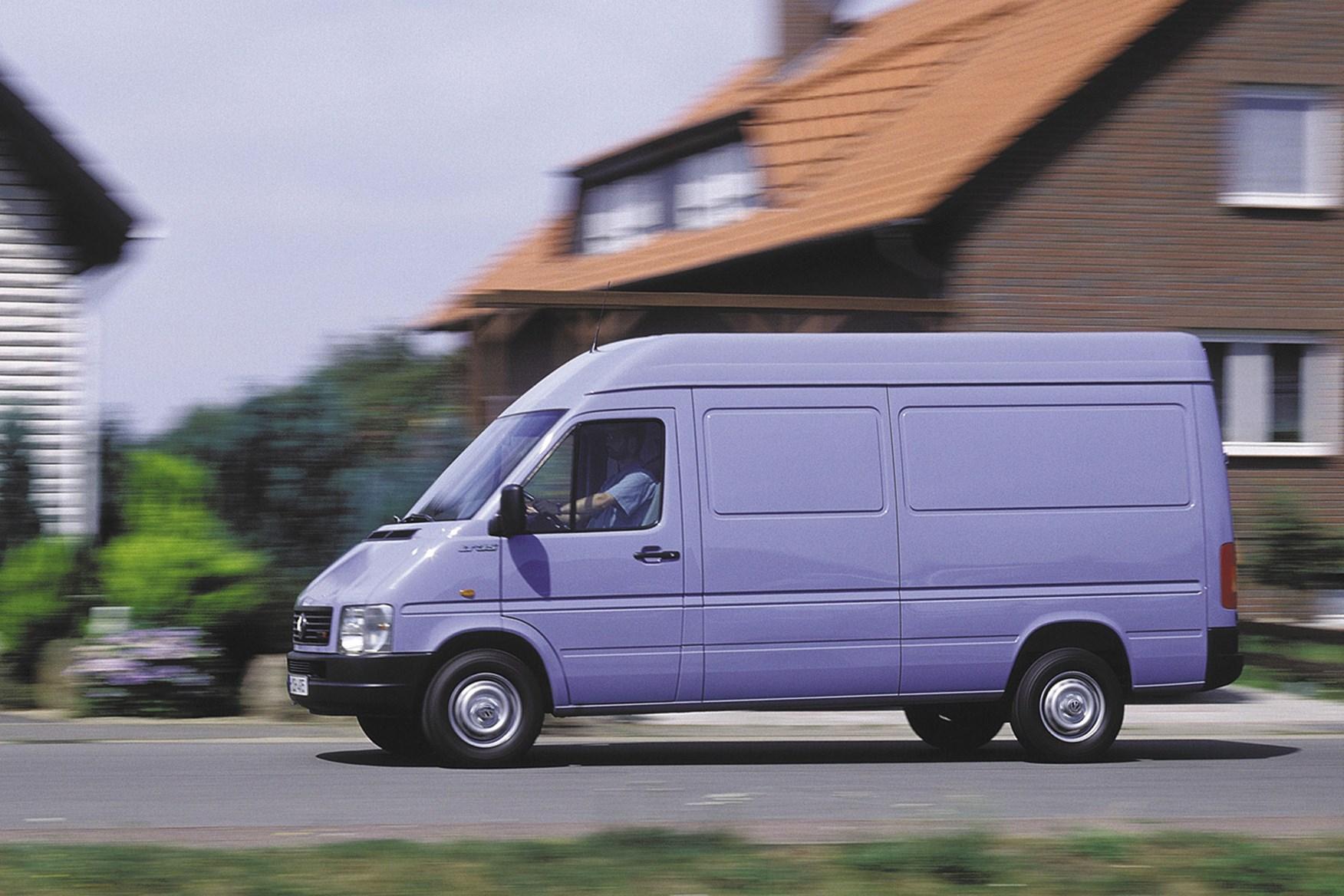 volkswagen lt van review 1996 2006 parkers. Black Bedroom Furniture Sets. Home Design Ideas