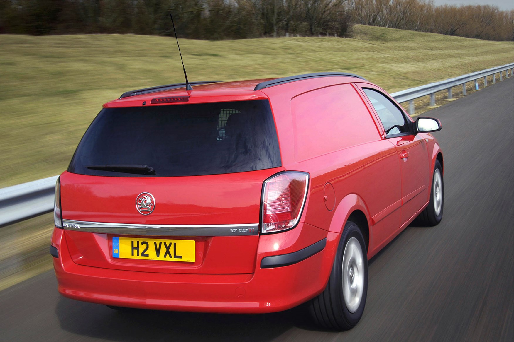 Vauxhall Astra review on Parkers Vans -  on the road