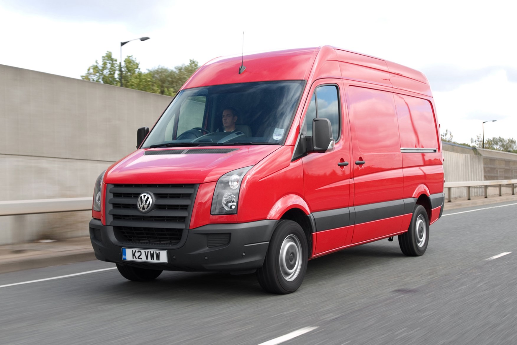 VW Crafter (1996-2003) driving experience