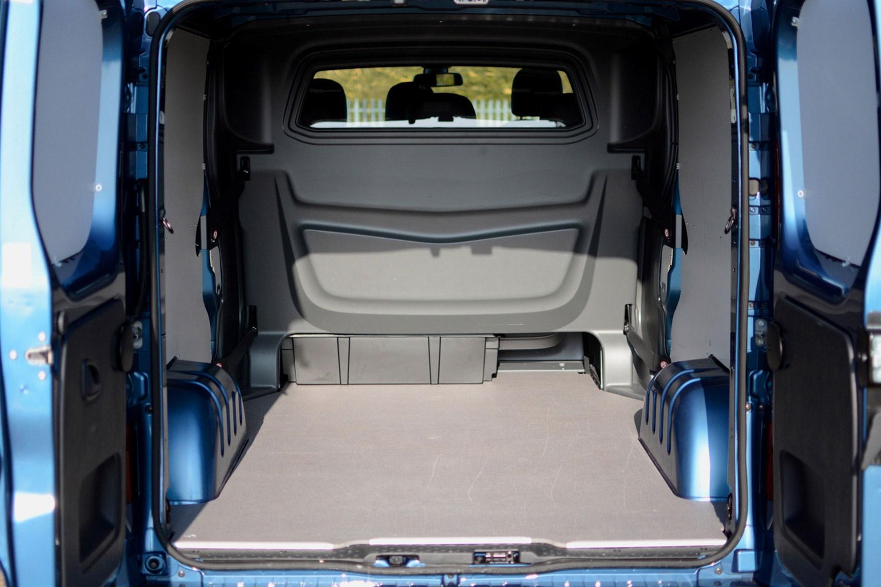 Vauxhall Vivaro Doublecab Sportive review - load area