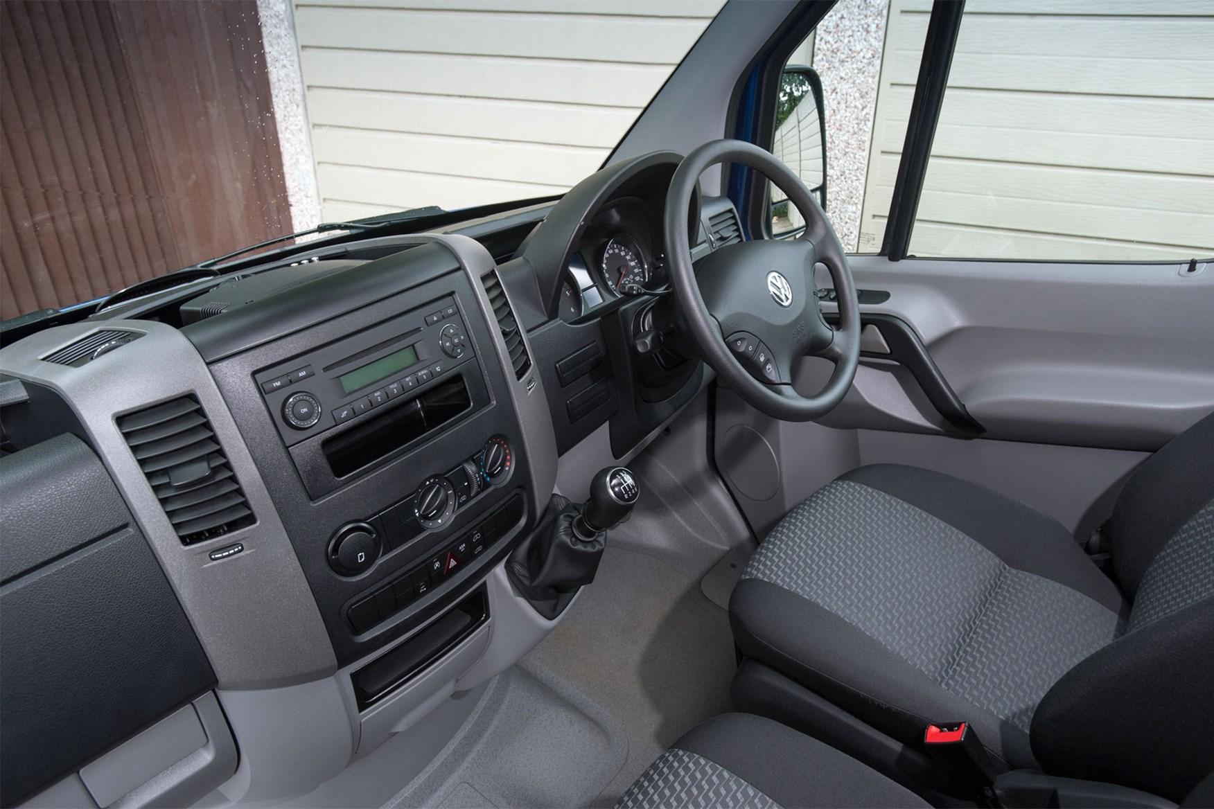 VW Crafter (2011-2016) cab interior
