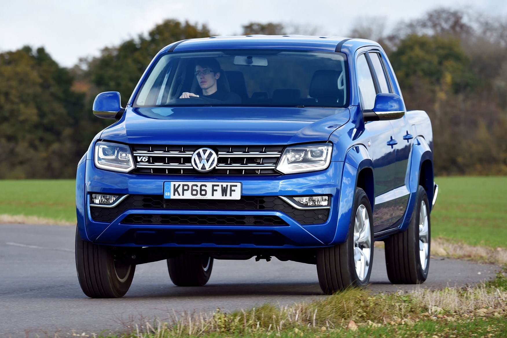 VW Amarok driving experience