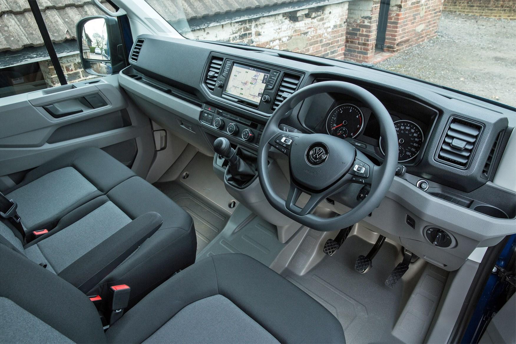 VW Crafter (2017-on) cab interior