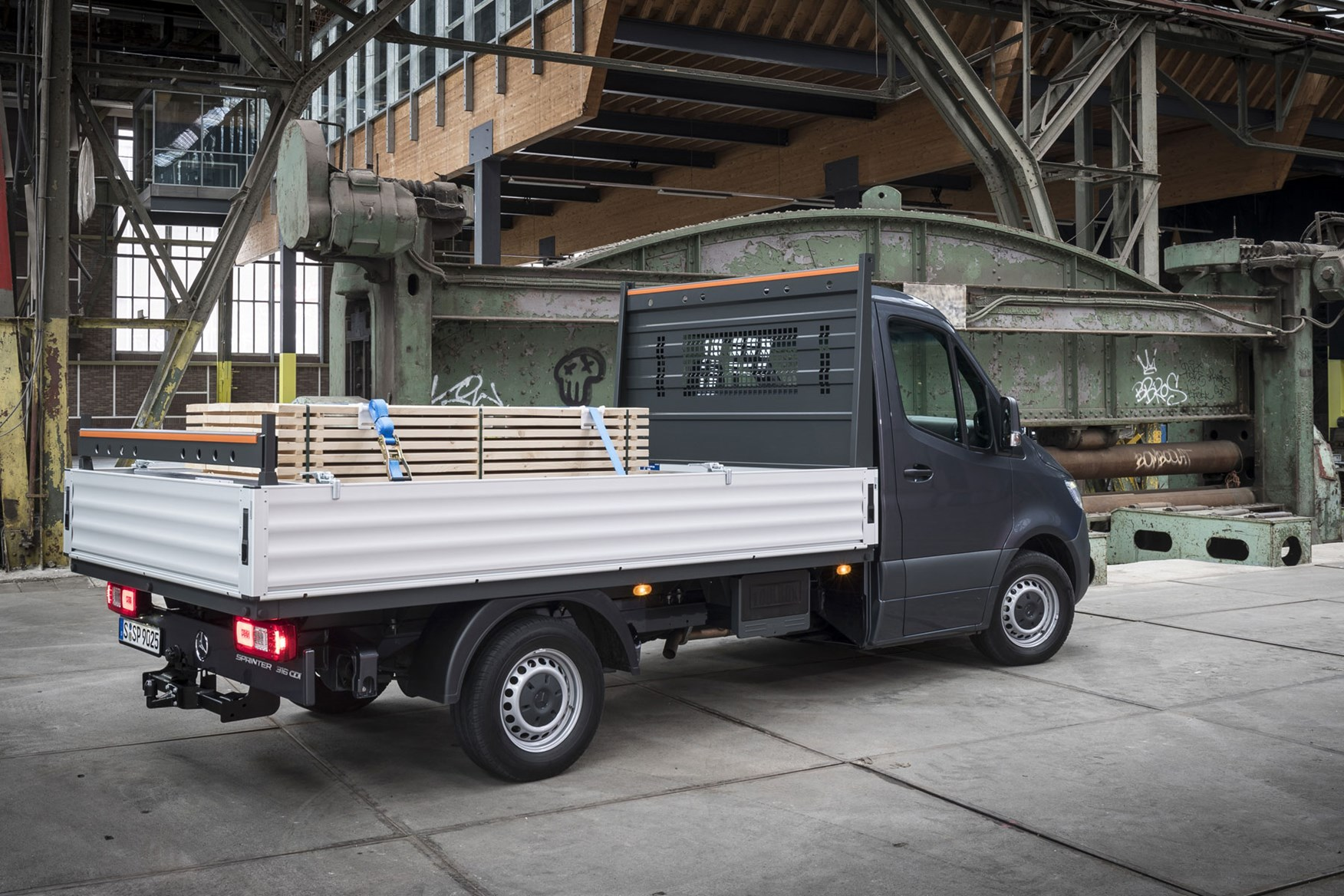 Mercedes Sprinter (2018-on) review - pickup rear view