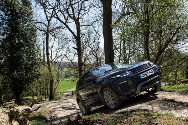 How to drive: Taking an SUV off-road