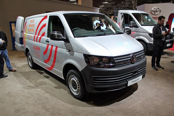Volkswagen At The CV Show 2018