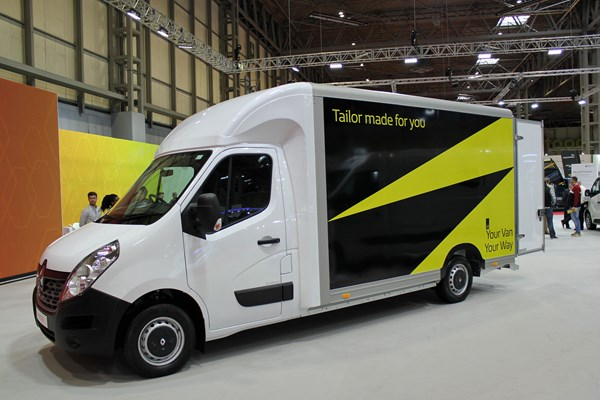 6c5a0cb442cb75 Renault shows off conversion capability at CV Show 2018 - plus UK ...