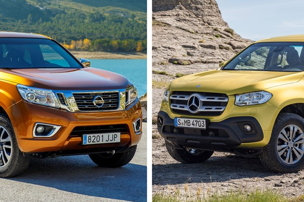 What's the difference between the Mercedes-Benz X-Class and the Nissan Navara?