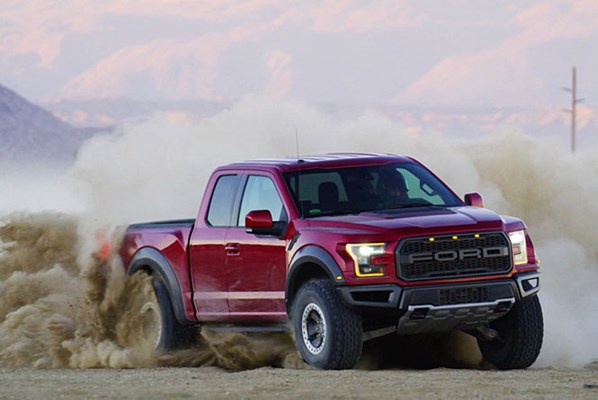 Ford F  Raptor High Performance Pickup Now Available In The Uk