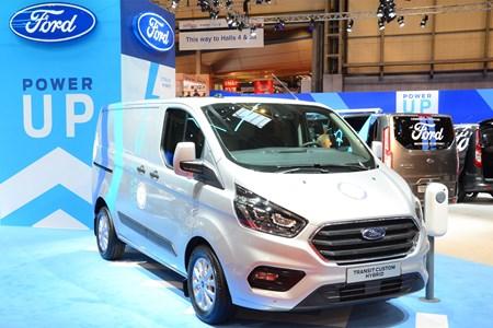 Ford Transit Custom Plug-In Hybrid electric van - latest