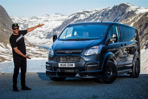 7a93a5a35b The £50k Ford Transit  Ken Block limited edition Custom now on sale ...