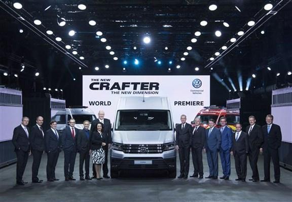 2016 VW Crafter World Premier