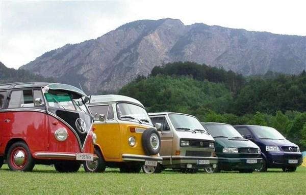 Volkswagen Transporter Range
