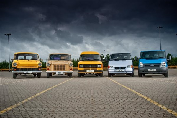 Ford Transit Generations