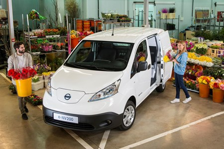 407e79d7beb758 What are electric vans useful for  Nissan e-NV200 at florists