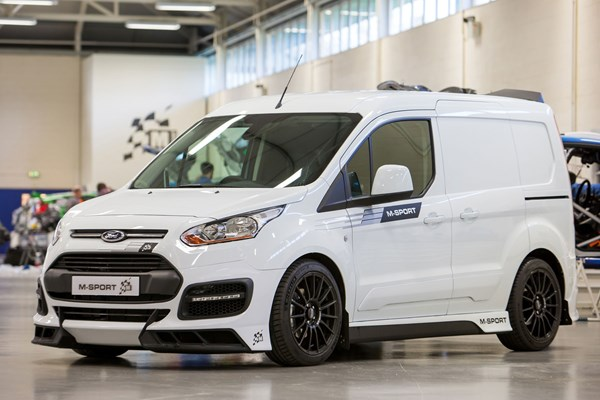 f65091f560a5 Ford Transit Connect M-Sport review | Parkers