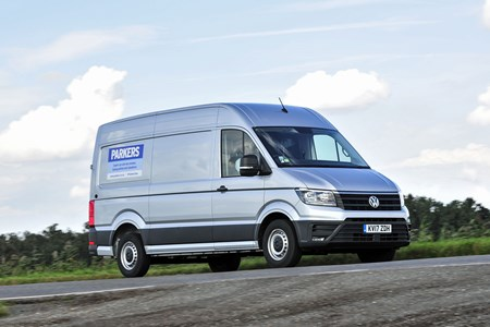 3c730714fd Parkers Vans VW Crafter long-term test review - driving