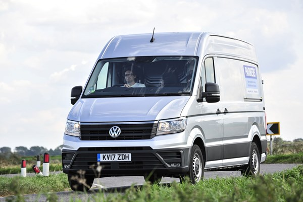 09c9172cb8 VW Crafter long-term test review on Parkers Vans