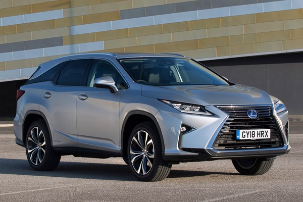 Lexus RX L (18 on) - rated 4.1 out of 5