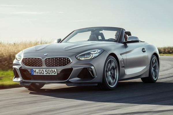 BMW Z4 Roadster 2019 driven