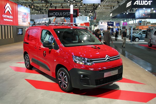 Citroen Berlingo Van 2018 – full official details, pictures
