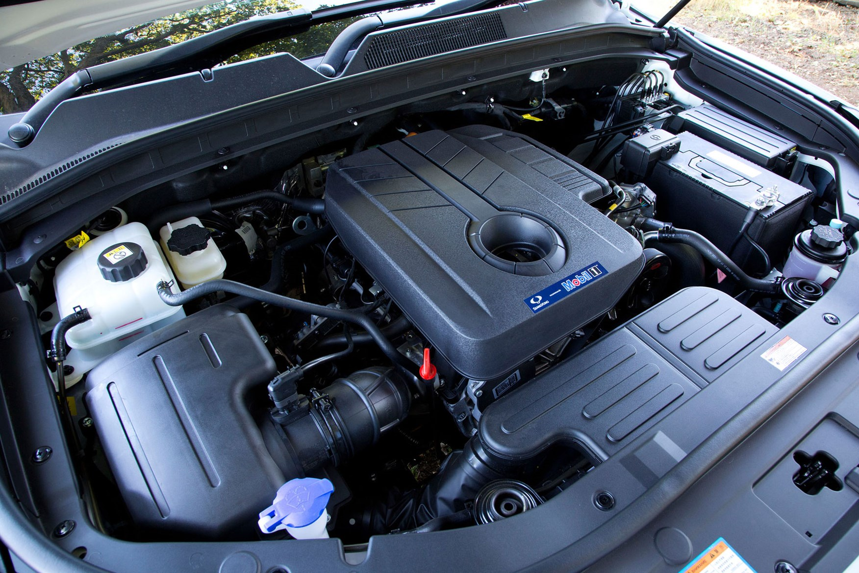 SsangYong Musso (2018-on) review, 2.2-litre diesel engine