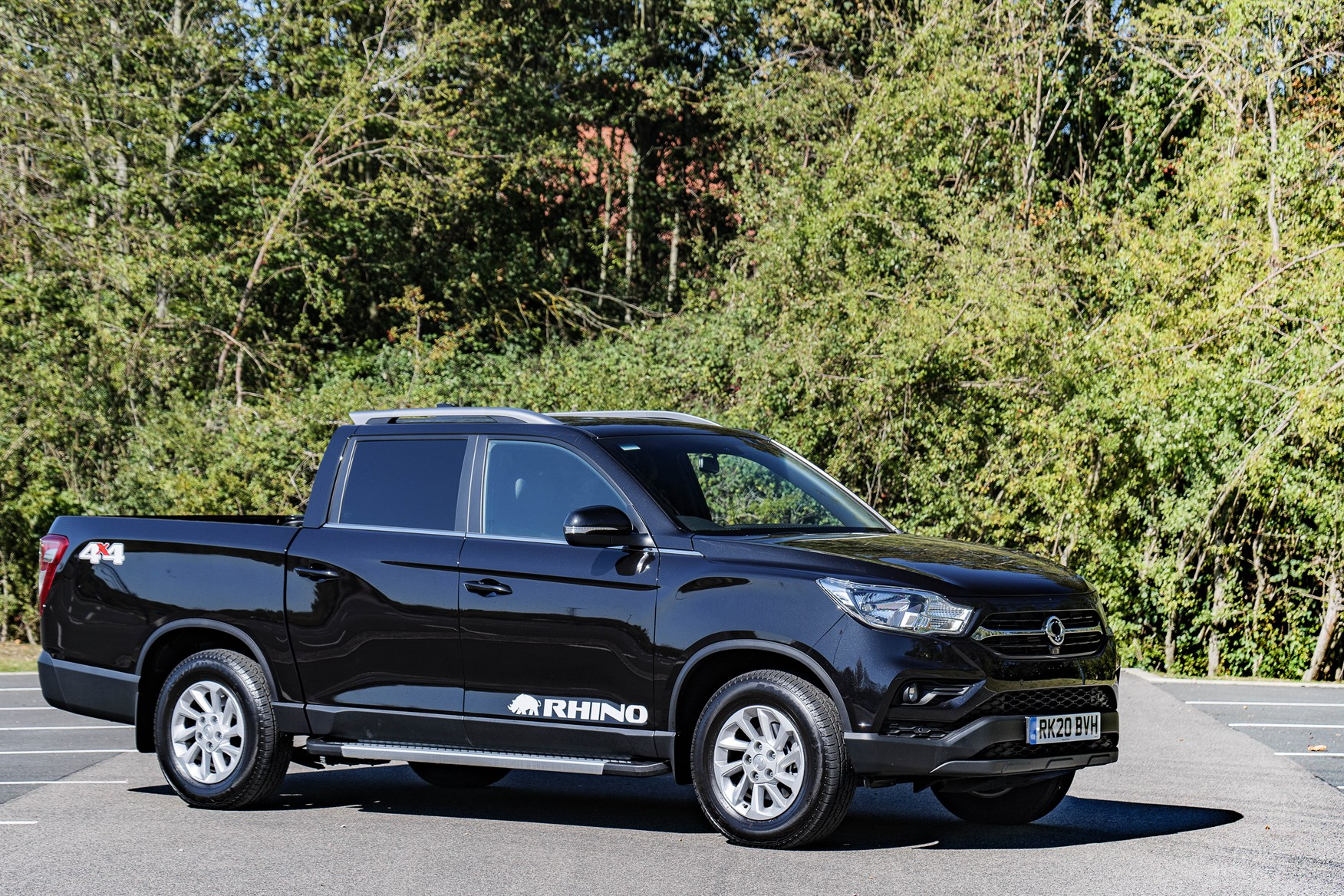 SsangYong Musso review, Rhino LWB, 2020, black
