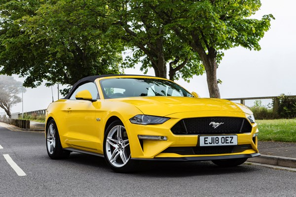 Ford Mustang Convertible (15 on) - rated 4.2 out of 5